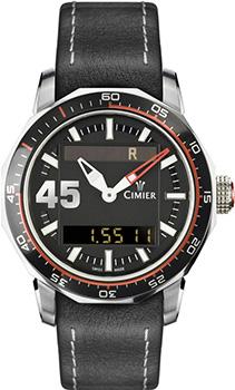 Швейцарские наручные  мужские часы Cimier 6109-SS021. Коллекция 1961
