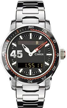 Швейцарские наручные  мужские часы Cimier 6109-SS022. Коллекция 1961