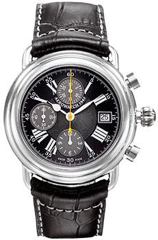 Швейцарские наручные  мужские часы Aerowatch 61901-AA04. Коллекция Collection 1942