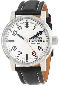 Швейцарские наручные  мужские часы Fortis 623.10.42L.01. Коллекция Cosmonautis
