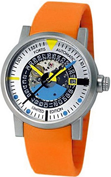 Швейцарские наручные  мужские часы Fortis 623.22.15SI.19. Коллекция Spacematic