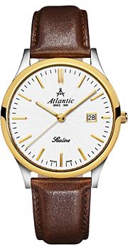 Швейцарские наручные  мужские часы Atlantic 62341.43.21. Коллекция Sealine