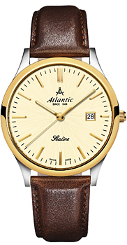 Швейцарские наручные  мужские часы Atlantic 62341.43.31. Коллекция Sealine