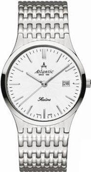 Швейцарские наручные  мужские часы Atlantic 62347.41.21. Коллекция Sealine