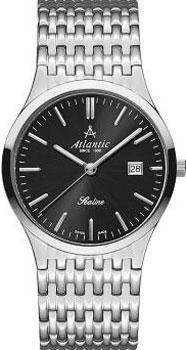 Швейцарские наручные  мужские часы Atlantic 62347.41.61. Коллекция Sealine