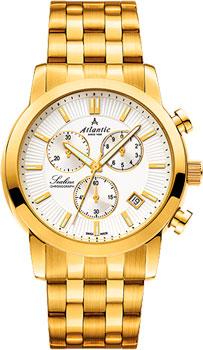 Швейцарские наручные  мужские часы Atlantic 62455.45.21. Коллекция Sealine