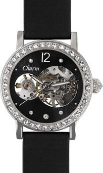 Российские наручные  женские часы Charm 62990002. Коллекция Механические часы