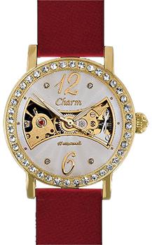 Российские наручные  женские часы Charm 62996001. Коллекция Механические часы