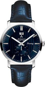 Швейцарские наручные  мужские часы Atlantic 63360.41.51. Коллекция Seaway