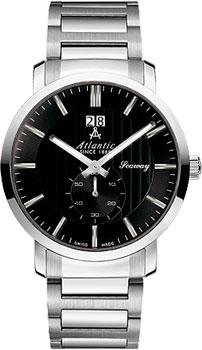 Швейцарские наручные  мужские часы Atlantic 63365.41.61. Коллекция Seaway