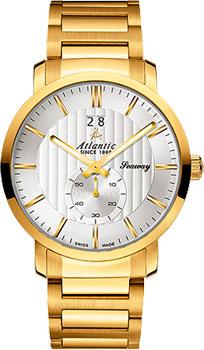 Швейцарские наручные  мужские часы Atlantic 63365.45.21. Коллекция Seaway