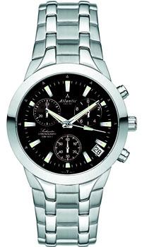 Швейцарские наручные  мужские часы Atlantic 63456.41.61. Коллекция Seahunter