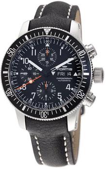 Швейцарские наручные  мужские часы Fortis 638.10.11L.01. Коллекция Cosmonautis