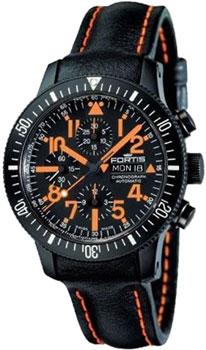 Швейцарские наручные  мужские часы Fortis 638.28.13L.13. Коллекция Cosmonautis