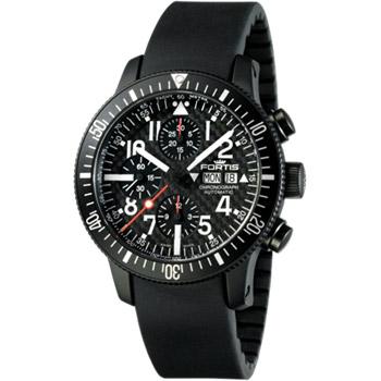 Швейцарские наручные  мужские часы Fortis 638.28.71K. Коллекция B 42 Flieger
