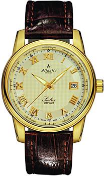 Швейцарские наручные  мужские часы Atlantic 64350.45.38. Коллекция Seabase