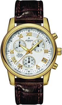 Швейцарские наручные  мужские часы Atlantic 64450.45.28. Коллекция Seabase