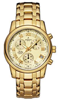 Швейцарские наручные  мужские часы Atlantic 64455.45.38. Коллекция Seabase