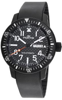 Швейцарские наручные  мужские часы Fortis 647.28.71K. Коллекция B 42 Flieger