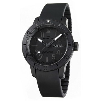 Швейцарские наручные  мужские часы Fortis 647.28.81K. Коллекция B 42 Black Mars 500