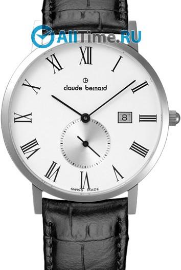 Мужские наручные швейцарские часы в коллекции Sophisticated Classics Claude Bernard