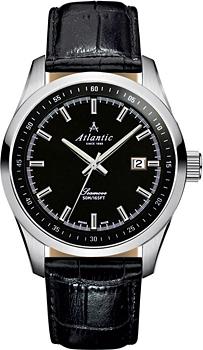 Швейцарские наручные  мужские часы Atlantic 65351.41.61. Коллекция Seamove