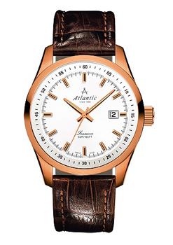 Швейцарские наручные  мужские часы Atlantic 65351.44.21. Коллекция Seamove