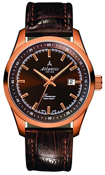 Швейцарские наручные  мужские часы Atlantic 65351.44.81. Коллекция Seamove