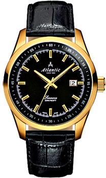 Швейцарские наручные  мужские часы Atlantic 65351.45.61. Коллекция Seamove