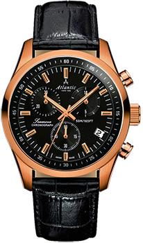 Швейцарские наручные  мужские часы Atlantic 65451.44.61. Коллекция Seamove