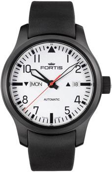 Швейцарские наручные  мужские часы Fortis 655.18.12K. Коллекция Aviatis