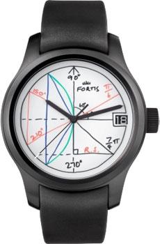Швейцарские наручные  мужские часы Fortis 655.18.92K. Коллекция 2Pi by Rolf Sachs