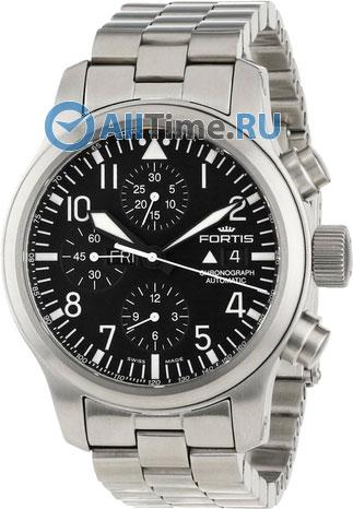 Мужские наручные швейцарские часы в коллекции Chronograph B 42 Fortis