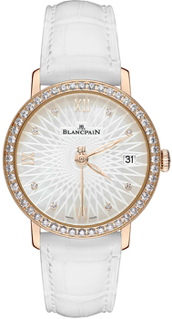 Швейцарские наручные  женские часы Blancpain 6604-2944-55A