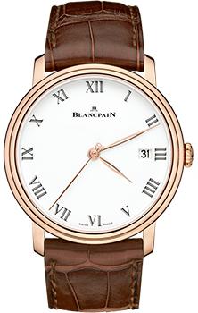 Швейцарские наручные  мужские часы Blancpain 6630-3631-55B