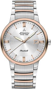 Швейцарские наручные  мужские часы Atlantic 66355.43.21R. Коллекция Seashell
