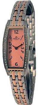 Швейцарские наручные  женские часы Appella 664-5007. Коллекция Dress watches