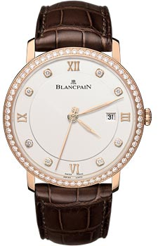 Швейцарские наручные  мужские часы Blancpain 6651-2987-55B