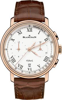 Швейцарские наручные  мужские часы Blancpain 6680F-3631-55B