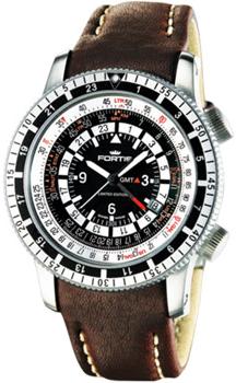 Швейцарские наручные  мужские часы Fortis 669.10.31LF.16. Коллекция Calculator