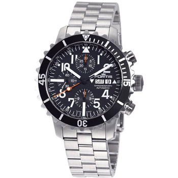 Швейцарские наручные  мужские часы Fortis 671.10.41M. Коллекция B 42 Marinemaster