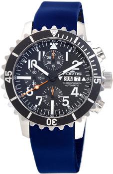 Швейцарские наручные  мужские часы Fortis 671.10.41SI05. Коллекция B 42 Marinemaster
