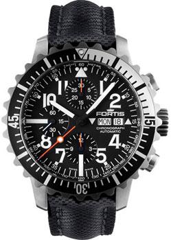 Швейцарские наручные  мужские часы Fortis 671.17.41L.01. Коллекция Aquatis