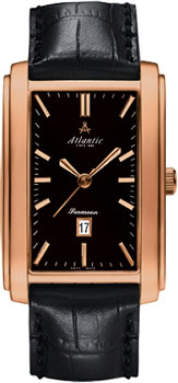 Швейцарские наручные  мужские часы Atlantic 67340.44.61. Коллекция Seamoon