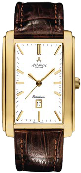 Швейцарские наручные  мужские часы Atlantic 67340.45.11. Коллекция Seamoon