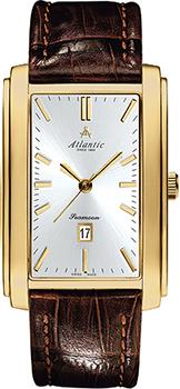 Швейцарские наручные  мужские часы Atlantic 67340.45.21. Коллекция Seamoon