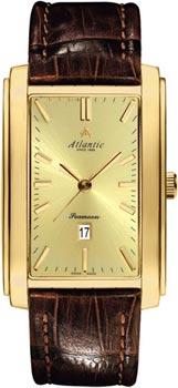 Швейцарские наручные  мужские часы Atlantic 67340.45.31. Коллекция Seamoon