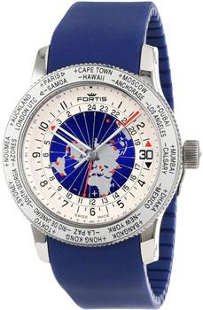 Швейцарские наручные  мужские часы Fortis 674.20.15SI.05. Коллекция Aviatis