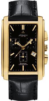 Швейцарские наручные  мужские часы Atlantic 67440.45.61. Коллекция Seamoon