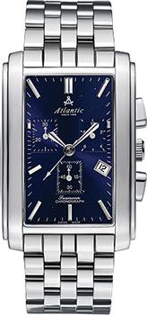 Швейцарские наручные  мужские часы Atlantic 67445.41.51. Коллекция Seamoon